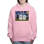 MP-Starry-CotonPAIR Women's Hooded Sweatshirt