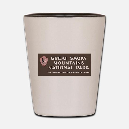 Great Smoky Mountains National Park, NC Shot Glass