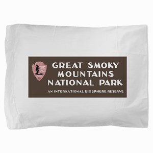 Great Smoky Mountains National Park, N Pillow Sham