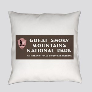 Great Smoky Mountains National Par Everyday Pillow