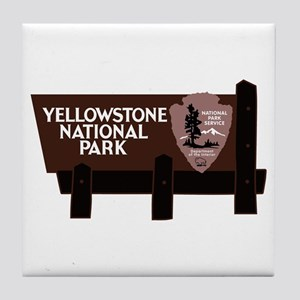 Yellowstone National Park, WY Tile Coaster
