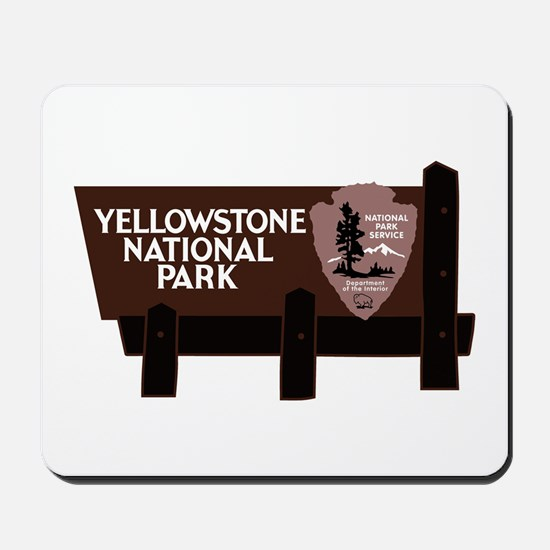 Yellowstone National Park, WY Mousepad