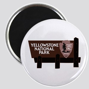 Yellowstone National Park, WY Magnet