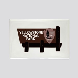 Yellowstone National Park, WY Rectangle Magnet