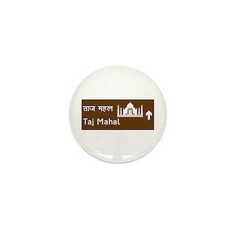 Taj Mahal, India Mini Button