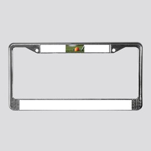 Golf Smiley License Plate Frame