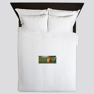 Golf Smiley Queen Duvet