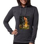 5.5x7.5-MidEve-DachsPAIR Womens Hooded Shirt