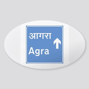 Agra, India Sticker (Oval)