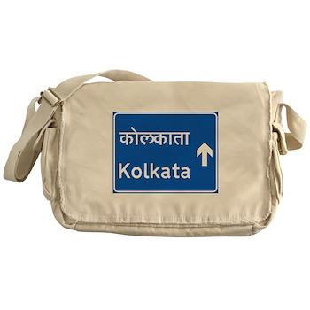Calcutta (Kolkata), India Messenger Bag