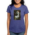 57-Oph2-Dachs-blk2 Womens Tri-blend T-Shirt