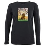 MP-SPRING-Dachs1 Plus Size Long Sleeve Tee