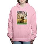 MP-SPRING-Dachs1 Women's Hooded Sweatshirt