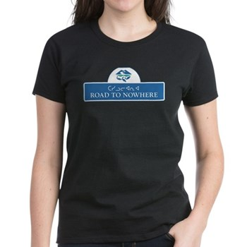 Road to Nowhere, Canada Women's Dark T-Shirt