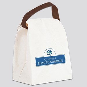 Road to Nowhere, Canada Canvas Lunch Bag