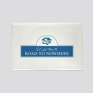 Road to Nowhere, Canada Rectangle Magnet