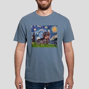 MP--Starry-WDachs2 Mens Comfort Colors Shirt