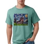 MP--Starry-WDachs2 Mens Comfort Colors Shirt