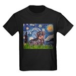 MP--Starry-WDachs2 Kids Dark T-Shirt