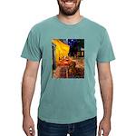 MP-Cafe-Dachs-Brwn1 Mens Comfort Colors Shirt
