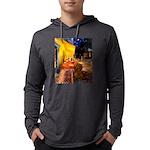 MP-Cafe-Dachs-Brwn1 Mens Hooded Shirt
