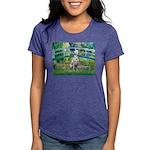 Dalmatian 1 - Bridge Womens Tri-blend T-Shirt