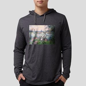 Dalmatian 1 - By the Seine Mens Hooded Shirt
