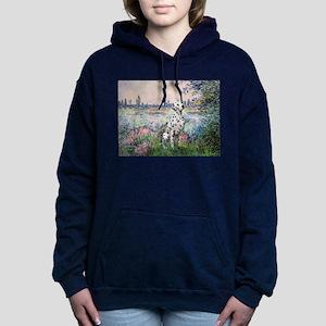 Dalmatian 1 - By the Seine Women's Hooded Swea