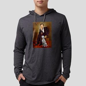 Dalmatian 1 - Lincoln Mens Hooded Shirt