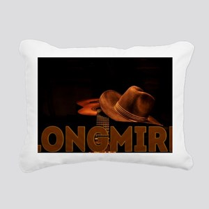 Longmire TV Rectangular Canvas Pillow