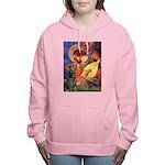 MP-ANGEL3-Dobie-Zola Women's Hooded Sweatshirt