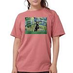 MP-BRIDGE-Dobie1 Womens Comfort Colors Shirt