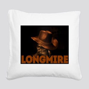 Longmire TV Square Canvas Pillow