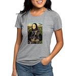 MONA-DobiePAIR1.png Womens Tri-blend T-Shirt