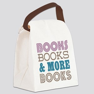 Books and Books Canvas Lunch Bag