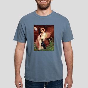810-Angel1-Doberman1 Mens Comfort Colors Shirt