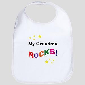 My Grandma Rocks! Bib