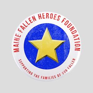 Maine Fallen Heroes Foundation Button