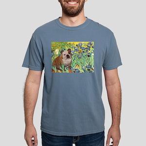 5.5x7.5-Irises-EBD1 Mens Comfort Colors Shirt