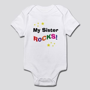 My Sister Rocks! Infant Bodysuit