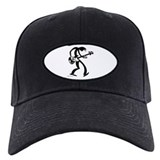 Bass player Baseball Cap with Patch