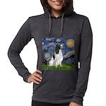 Starry - EnglishSpringer Womens Hooded Shirt