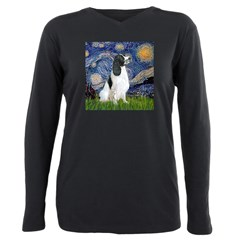 Starry - EnglishSpringer Plus Size Long Sleeve Tee