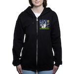 Starry - EnglishSpringer Women's Zip Hoodie