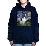 Starry - EnglishSpringer Women's Hooded Sweatshirt