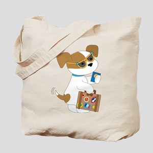Cute Puppy Travel Tote Bag