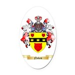 Nokes Oval Car Magnet