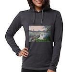 Eskimo Spitz 1 - By the Seine Womens Hooded Sh