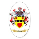 Nokes Sticker (Oval 10 pk)