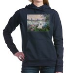 Eskimo Spitz 1 - By the Seine Women's Hooded S